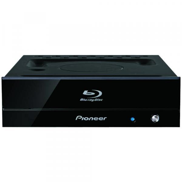 PIONEER BDR-S11J-X Ultra HD Blu-ray(UHDBD)再生対応Blu-rayドライブ 特殊塗装ブラック筐体 青色LED BDXL対応 S-ATA接続