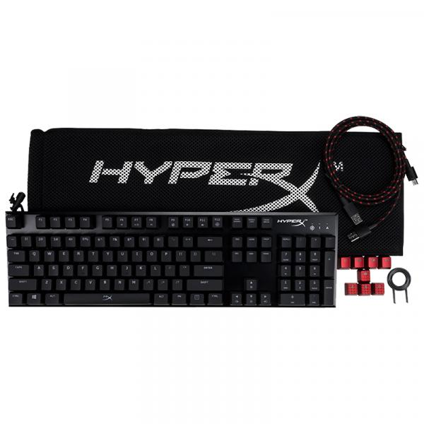 【Gaming Goods】キングストン HyperX HX-KB1BL1-NA/A3 HyperX Alloy FPS(英語配列)(青軸)ゲーミングキーボード