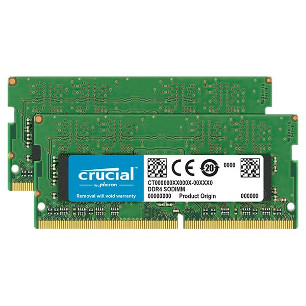 Crucial CT2K16G4SFD824A 32GB(16GB×2) DDR4-2400 ノート用メモリ 260pin SO-DIMM
