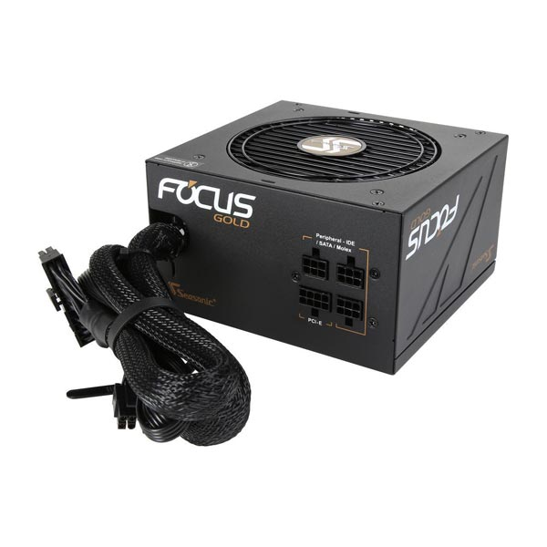 Seasonic SSR-550FM [550W/GOLD認証] FOCUS GOLD セミモジュラー PC電源 スマートサイレントファンコントロール機能搭載