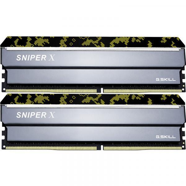 G.Skill F4-3200C16D-32GSXKB [DDR4 PC4-25600 16GB 2枚組]デスクトップ用メモリ Sniper X シリーズ Digital Camo