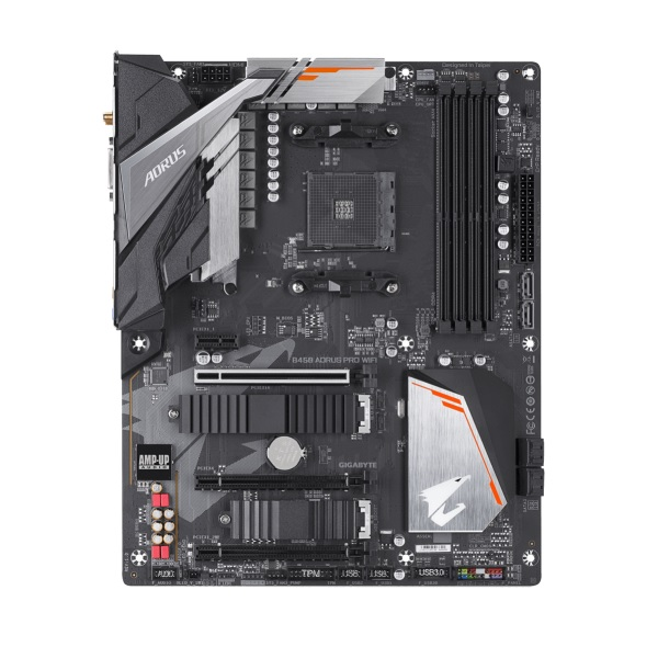 GIGABYTE B450 AORUS PRO WIFI [ATX/AM4/B450] AMD B450チップセット搭載 マザーボード AORUS ゲーミング