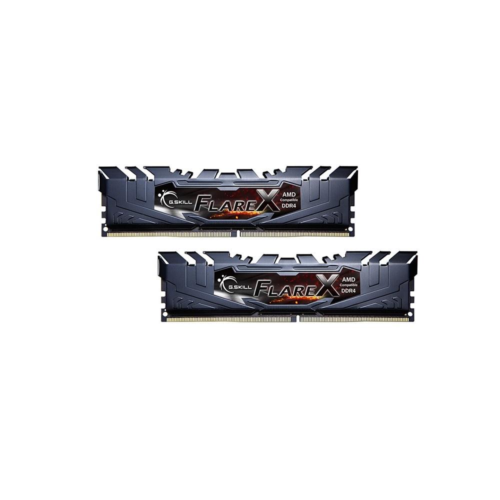 G.SKILL F4-3200C14D-16GFX [DDR4-3200/8GB x2枚] デスクトップ用メモリ AMD Ryzen用に設計されたメモリ「FLARE X」シリーズ