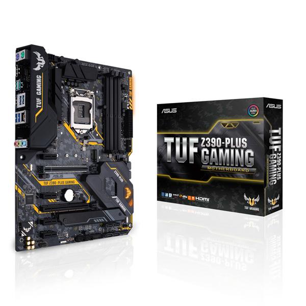 ASUS TUF Z390-PLUS GAMING [ATX/LGA1151/Z390] Intel 第9世代Coreプロセッサー対応 Z390チップセット搭載マザーボード