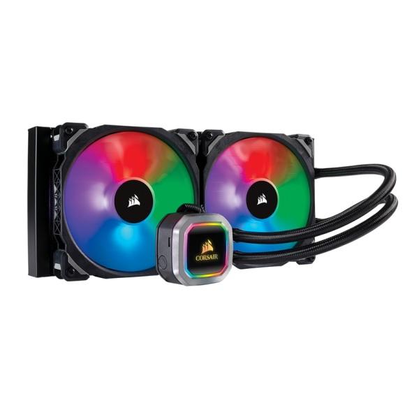 Corsair H115i RGB PLATINUM (CW-9060038-WW) 水冷CPUクーラー 280mmサイズ アドレッサブルRGB搭載