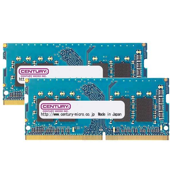 CENTURY MICRO CK8GX2-SOD4U2666H [DDR4-2666/8GB x2枚] ノート用メモリ