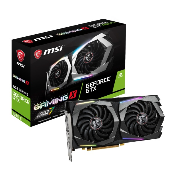 MSI GeForce GTX 1660 Ti GAMING X 6G [GTX1660Ti/GDDR6 6GB] GeForce GTX 1660Ti 搭載グラフィックカード