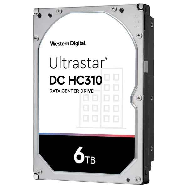 Western Digital HUS726T6TALE6L4 [6TB/3.5インチ/7200rpm/SATA ] Ultrastar DC HC310/内蔵用ハードディスクドライブ