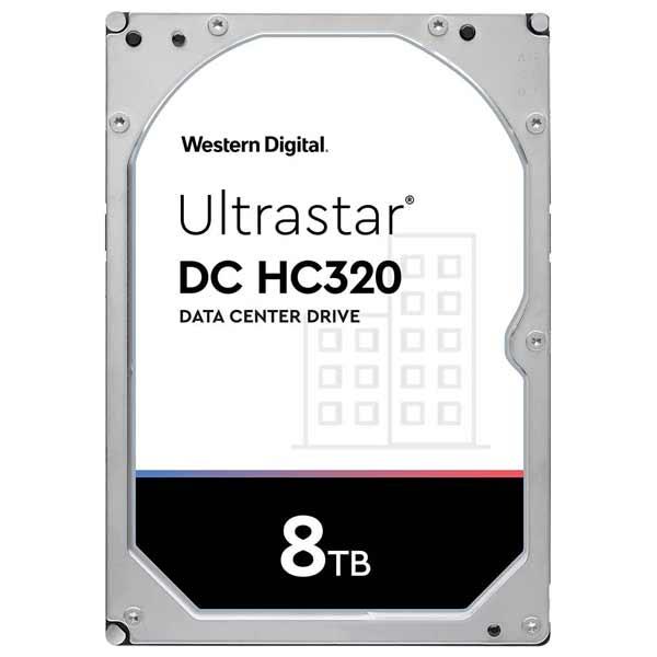 Western Digital HUS728T8TALE6L4 [8TB/3.5インチ/7200rpm/SATA ] Ultrastar DC HC320/内蔵用ハードディスクドライブ