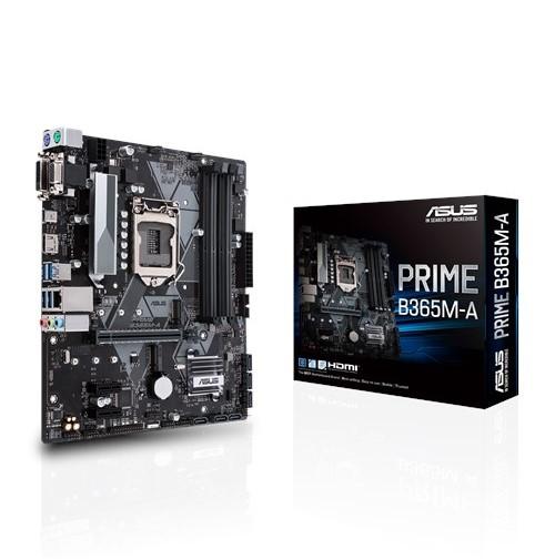 ASUS PRIME B365M-A [MicroATX/LGA1151/B365] B365チップセット搭載 MicroATXマザーボード