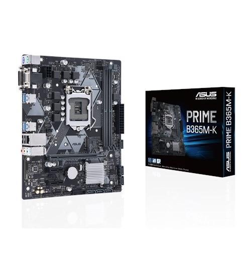ASUS PRIME B365M-K [MicroATX/LGA1151/B365] B365チップセット搭載 MicroATXマザーボード