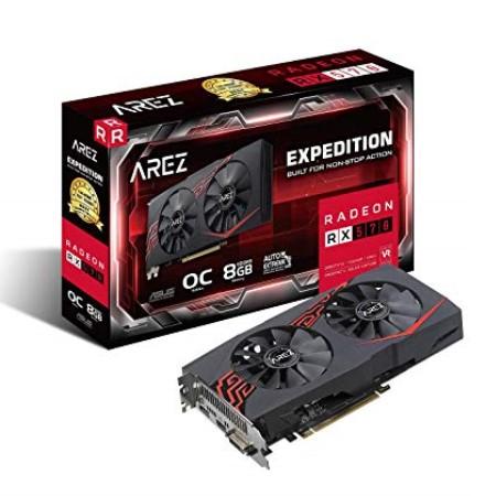 ASUS EX-RX570-O8G [RX570/GDDR5 8GB] AMD Radeon RX 570搭載グラフィックカード