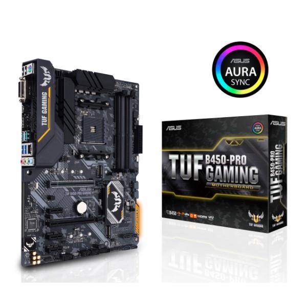 ASUS TUF B450-PRO GAMING [ATX/AM4/B450] 耐久性に優れた ゲーミング マザーボード