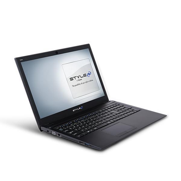 iiyama STYLE∞ ノートPC STYLE-15HP038-C-CFSM [Windows 10 Home/Celeron 3867U/4GB メモリ/250GB SSD]
