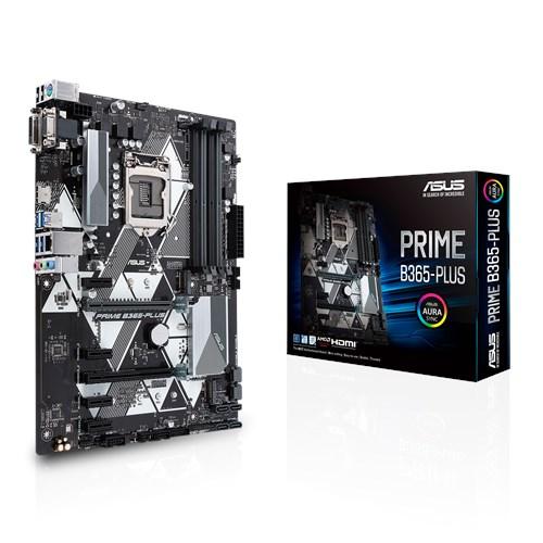 ASUS PRIME B365-PLUS [ATX/LGA1151/B365] マザーボード M.2スロット2基 コスパ重視モデル