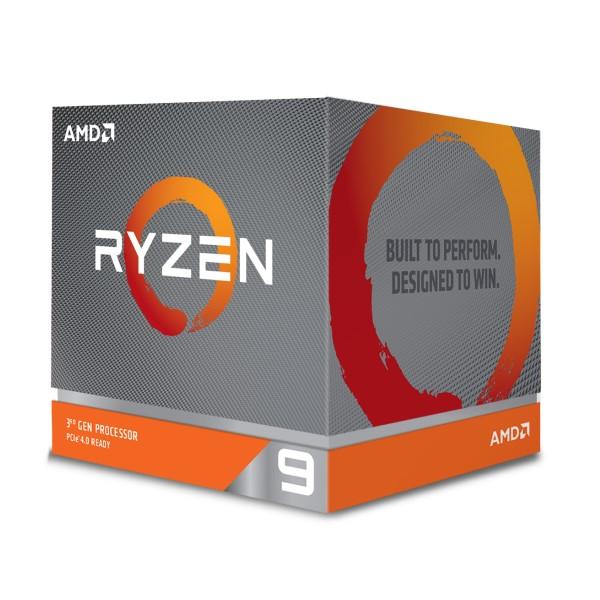 AMD Ryzen 9 3900X 100-100000023BOX  [3.8-4.6GHz/12C/24T/AM4] 第3世代Ryzenプロセッサ Ryzen 9 3900X w/Wraith Prismクーラー