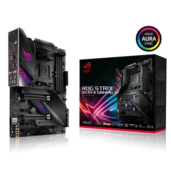ASUS ROG STRIX X570-E GAMING [ATX/AM4/X570] AMD X570チップセット搭載 ATXゲーミングマザーボード
