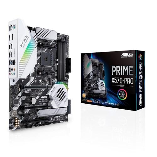 ASUS PRIME X570-PRO/CSM [ATX/AM4/X570] PRIMEシリーズ AMD X570チップセット搭載 ATXマザーボード