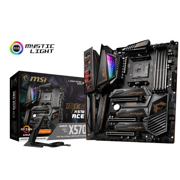 MSI MEG X570 ACE [ATX/AM4/X570] AMD X570チップセット搭載 ハイエンド向けマザーボード