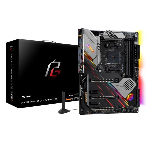 ASRock X570 Phantom Gaming X [ATX/AM4/X570] AMD X570チップセット搭載 ハイエンドモデルゲーミングマザーボード