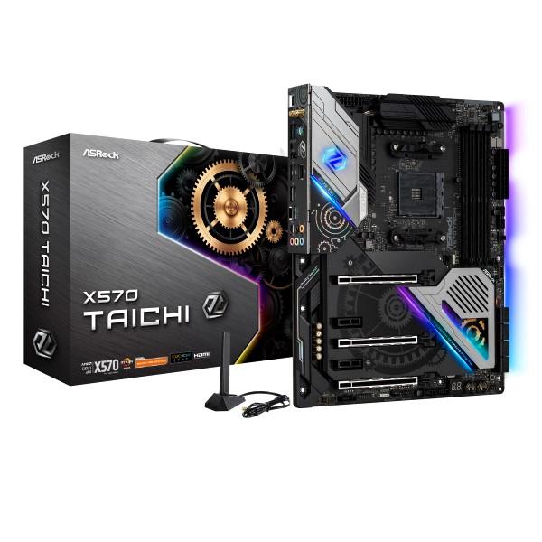 ASRock X570 Taichi [ATX/AM4/X570] AMD X570チップセット搭載 ATXマザーボード
