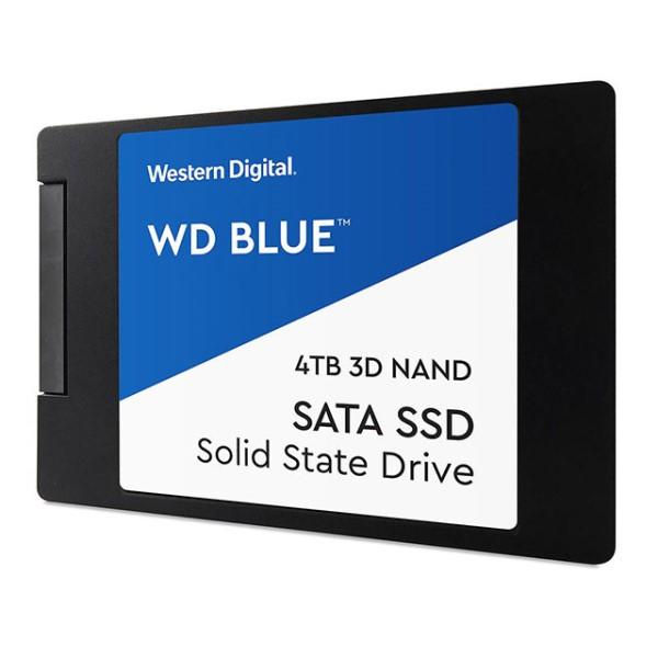 Western Digital WDS400T2B0A [4TB/SSD] SATA /2.5インチ/WD Blue 3D NAND SATA SSD/7mm/64層3D NAND搭載