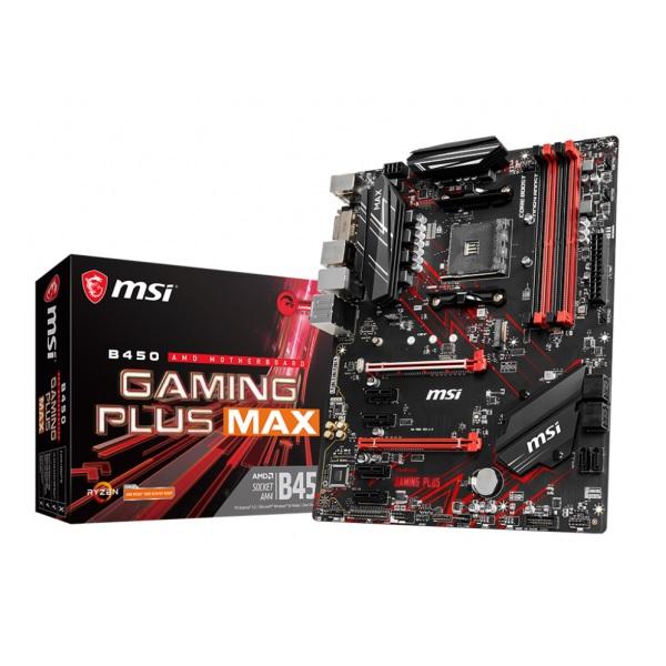 MSI B450 GAMING PLUS MAX [ATX/AM4/B450] B450チップセット搭載 マザーボード ゲーミングモデル