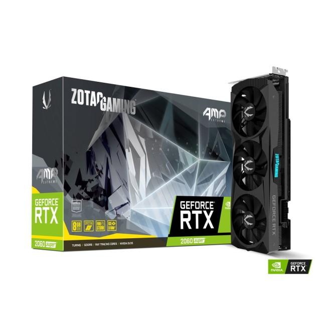 ZOTAC GAMING GeForce RTX 2060 SUPER AMP Extreme ZT-T20610B-10P [RTX2060 SUPER/8GB GDDR6] グラフィックカード