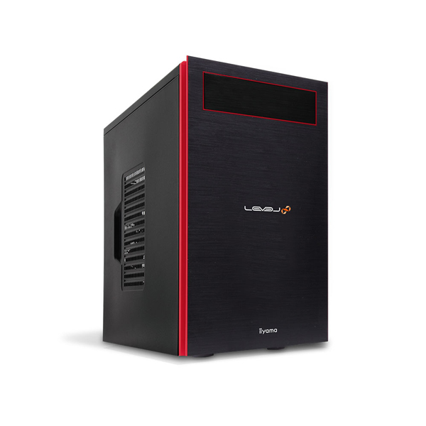 iiyama ゲーミングPC LEVEL-M0B6-i7-RX1XM モニタ別売 [Windows 10/Core i7-9700/GeForce GTX 1660 Ti/16GBメモリ/512GB M.2 SSD]
