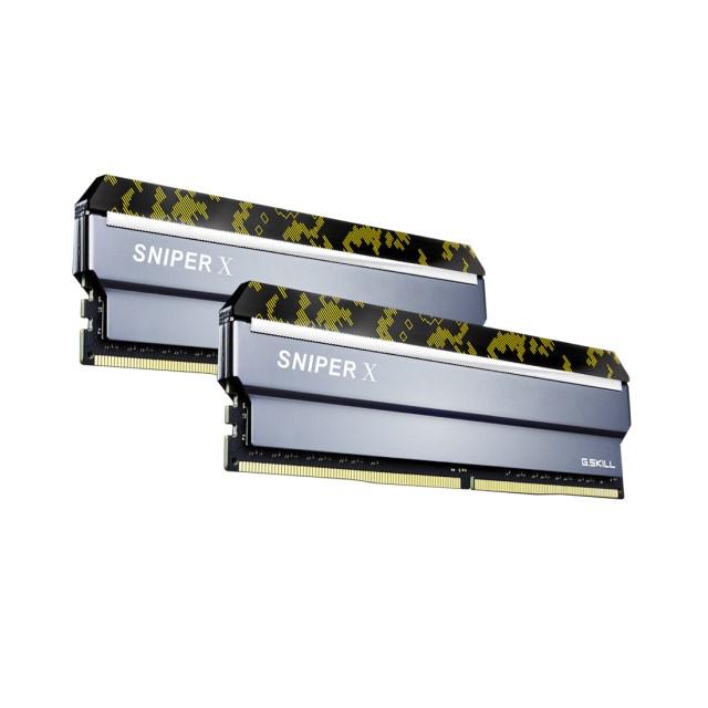 G.SKILL F4-3600C19D-32GSXKB 16GB×2 デスクトップ用メモリ Sniper X シリーズ