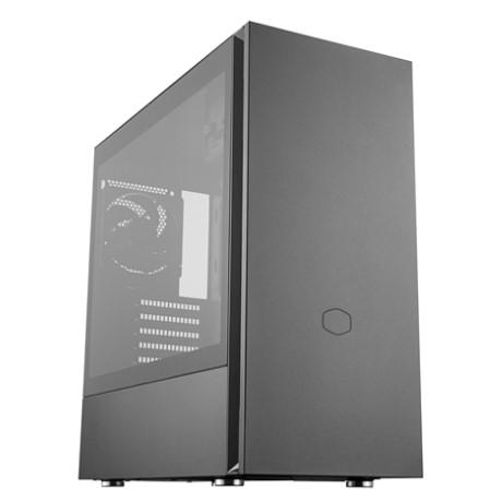 CoolerMaster Silencio S600 TG MCS-S600-KG5N-S00 強化ガラスサイドパネル ミドルタワー PCケース