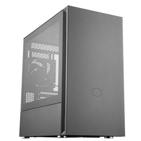 CoolerMaster Silencio S400 TG MCS-S400-KG5N-S00 強化ガラスサイドパネル ミニタワー PCケース