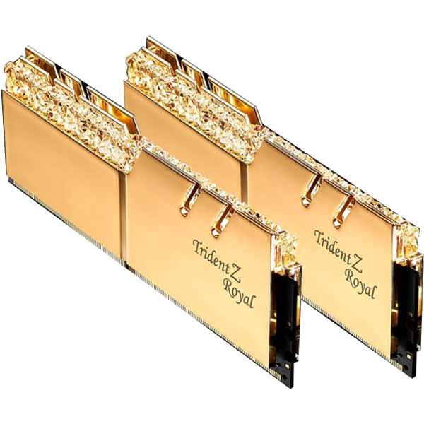 G.SKILL F4-3000C16D-32GTRG DDR4-3000 16GB×2 デスクトップ用メモリ Trident Z Royalシリーズ