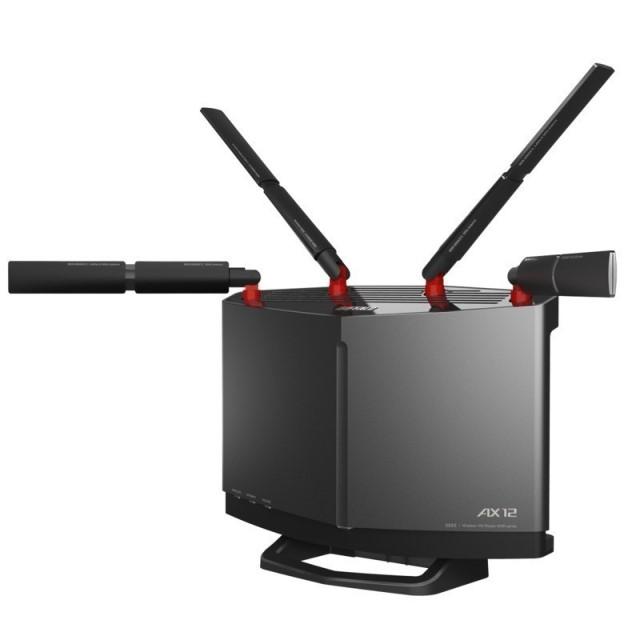 バッファロー WXR-5950AX12 10GbE有線LAN搭載、新電波法準拠のWi-Fi 6(11ax)8×8 12ストリーム対応ルーター