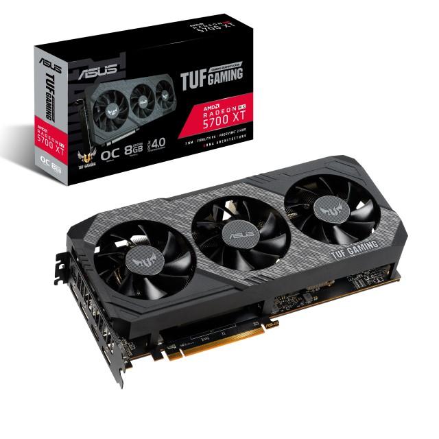 新製品 ASUS TUF 3-RX5700XT-O8G-GAMING AMD Radeon RX 5700 XT搭載グラフィックカード オリジナルファン OCモデル