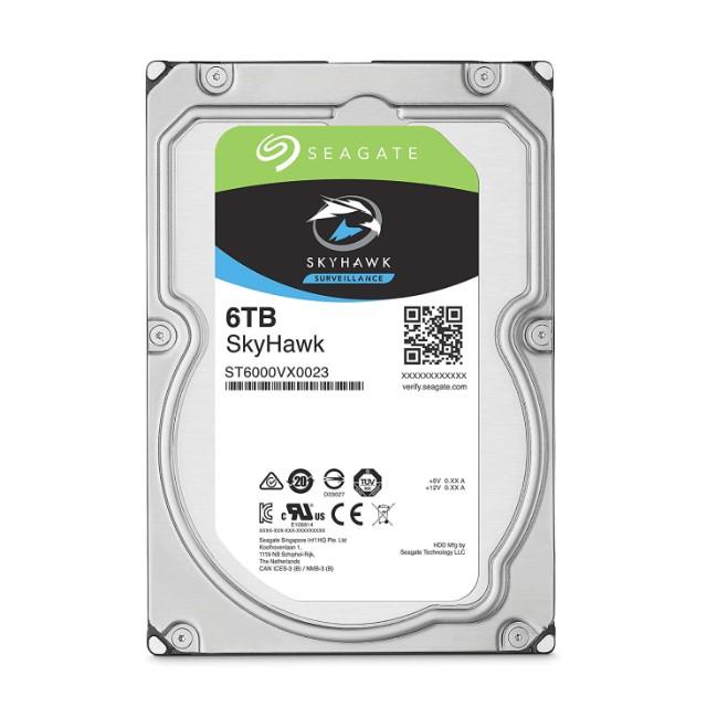SEAGATE ST6000VX0023 6TB 3.5型デスクトップ内蔵用ハードディスクドライブ 【バルク品】