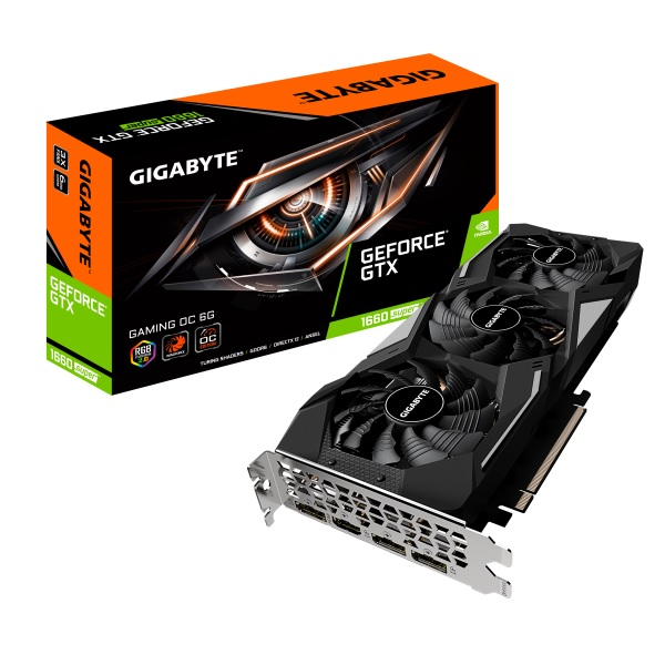 新製品 GIGABYTE GV-N166SGAMING OC-6GD NVIDIA GeForce GTX 1660 SUPER 搭載グラフィックカード