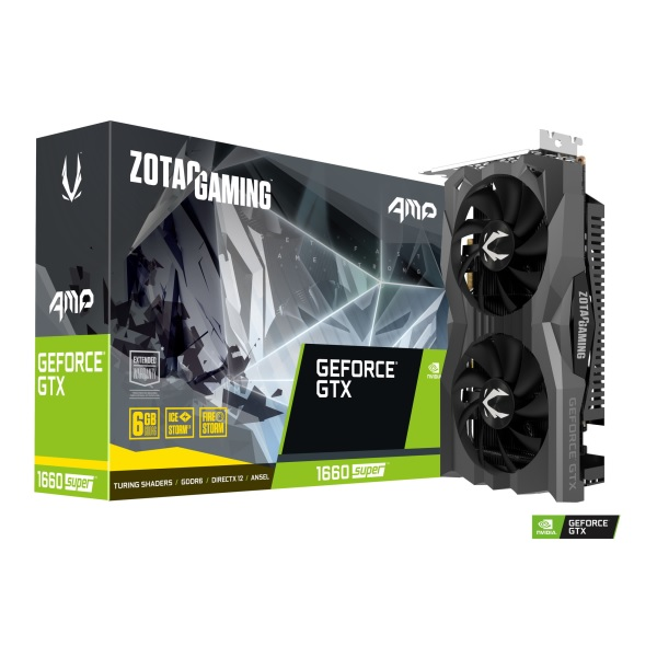 ZOTAC ZT-1660S-6G-AMP/ZT-T16620D-10M NVIDIA GeForce GTX 1660 SUPER 搭載グラフィックカード
