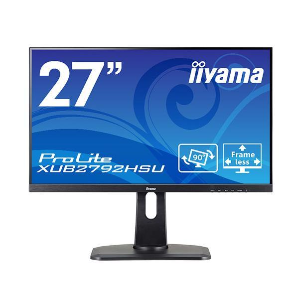 新製品 iiyama ProLite XUB2792HSU-B1 27型液晶ディスプレイ IPS方式パネル採用広視野角