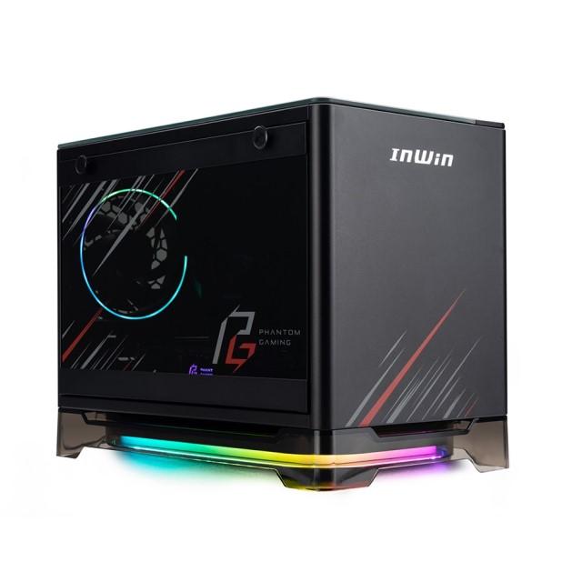 新製品 IN WIN A1PLUS-PGE Mini ITX PCケース 80PLUS GOLD認証 650W電源搭載 A1PLUS Phantom Gaming Edition