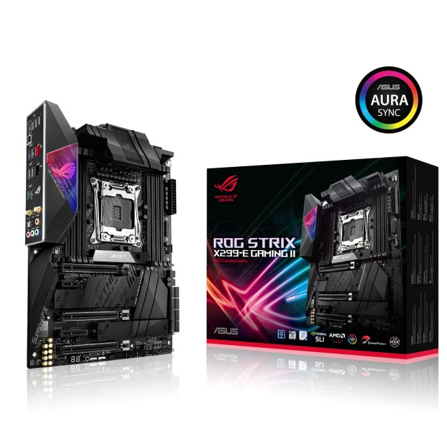 新製品 ASUS ROG STRIX X299-E GAMING II ATX マザーボード LGA 2066 インテル X299 チップセット