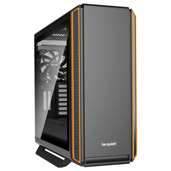 新製品 be quiet! BGW14 DARK BASE PRO 900 ORANGE rev. 2 フルタワーPCケース サイドパネルに強化ガラスを採用
