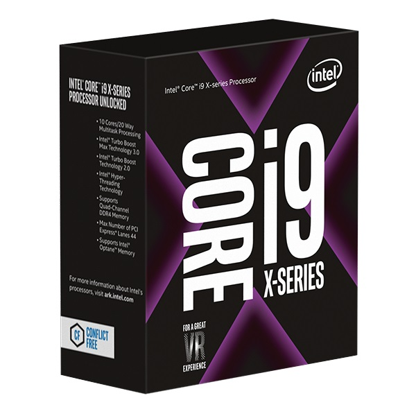 Intel Core i9-10940X BOX Core X-series CPU Socket LGA2066