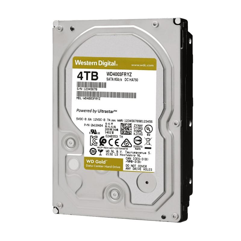 新製品 Western Digital WD4003FRYZ [4TB SATA600 7200] 3.5インチHDD WD Gold