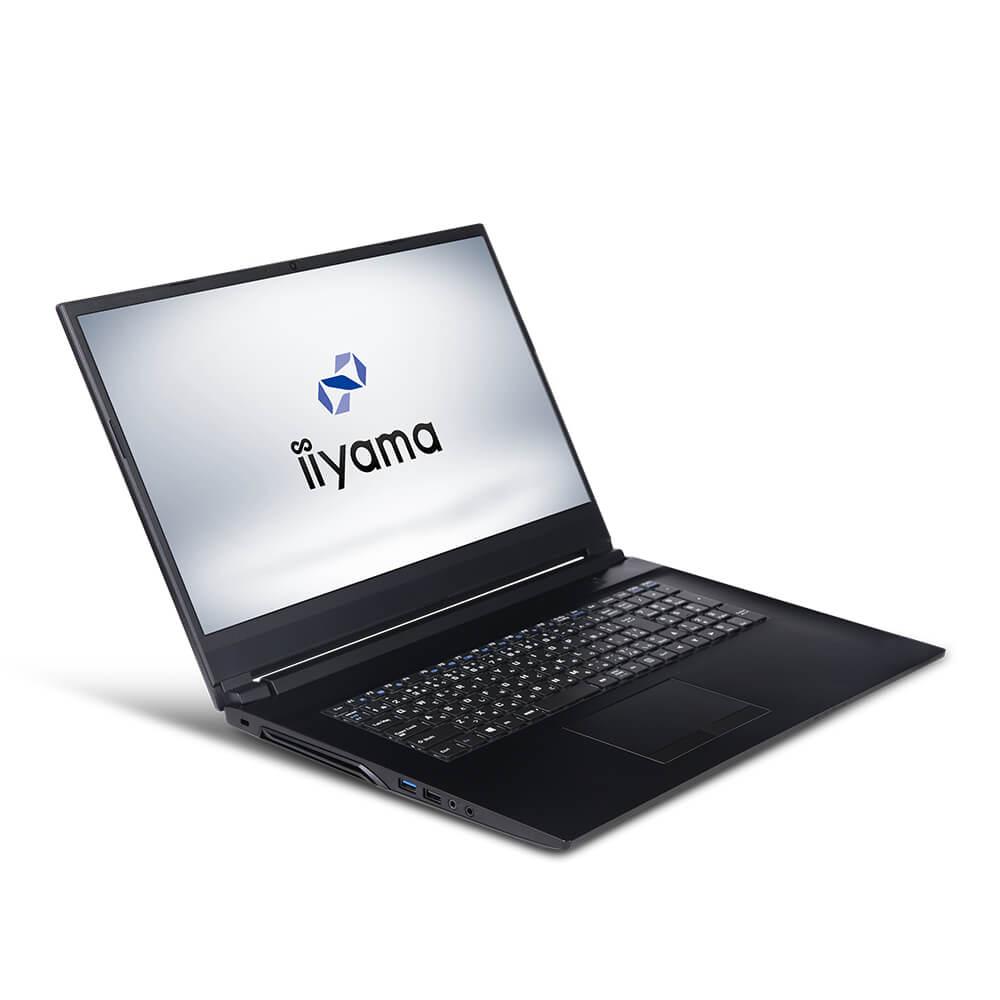 iiyama STYLE∞ ノートPC STYLE-17FH055-i7-UHSXM [17.3型フルHD/Windows 10 Home/Core i7-9750H/8GB メモリ/250GB M.2 SSD]