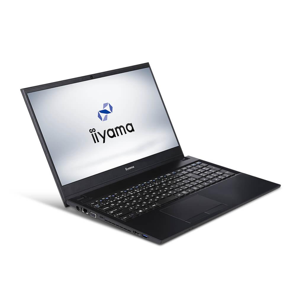 新製品 iiyama STYLE∞ ノートPC STYLE-15FH050-i7-UHFXM [15.6型フルHD/Windows 10 Home/Core i7-10510U/8GB メモリ/500GB M.2 SSD/DVDマルチ]