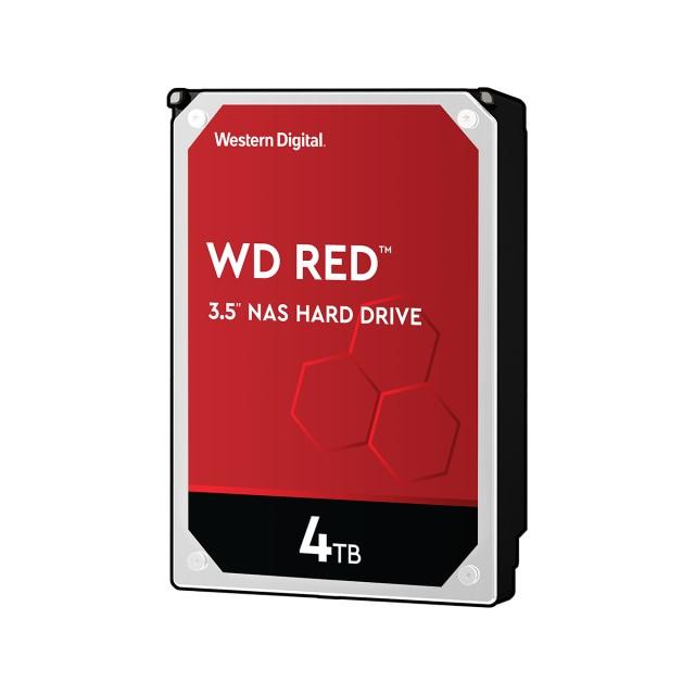 Western Digital WD40EFAX-RT 4TB 3.5型 ハードディスクドライブ WD Redシリーズ デスクトップ内蔵用