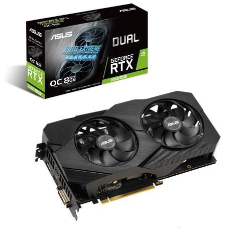 ASUS DUAL-RTX2060S-O8G-EVO-V2 NVIDIA GeForce RTX 2060 SUPER 搭載グラフィックカード