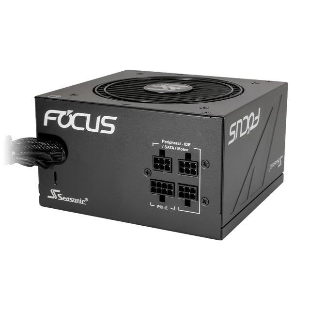 Seasonic FOCUS-GM-650 ATX電源 650W FOCUS GMシリーズ 80PLUS GOLD認証 セミモジュラーケーブル