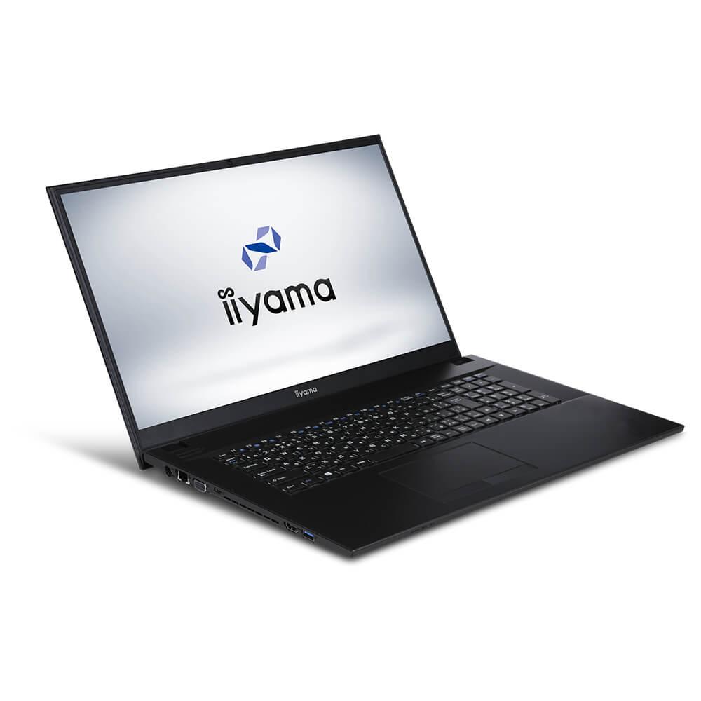 iiyama ノートPC STYLE∞ [Windows 10/Celeron 4205U/4GB メモリ/250GB SSD/17.3インチ] STYLE-17FH045-C-UCESM